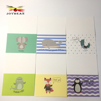 36 sets of thank you cards and envelopes, thank you for your greeting card and paper envelope