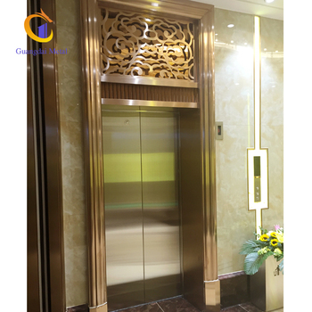 Professional customized stainless steel door panel.