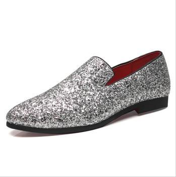 Sh10469a Sequin Design Mens Shoes