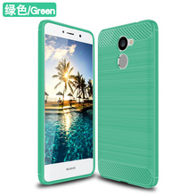 TPU Shockproof Case Cover For Huawei Y7 Prime mobile phone case brushed tpu case for huawei y7 prme