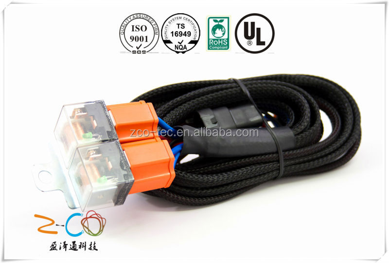 Customized OEM wire harness with Tyco connector smp wire harness connector s821 diagram wiring diagrams for diy ford tractor wiring harness connectors at nearapp.co