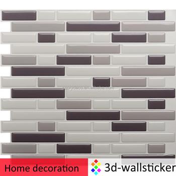 Facile Da Installare Facile Fai Da Te Look Cucina Piastrelle Muro Di ...