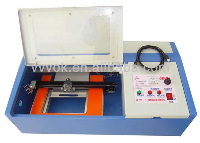 Mini Laser Engraving Polymer Stamps Machine View Polymer