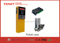Paper ticket vending machine for vehicle access control system