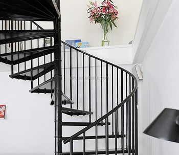 Indoor stairs design metal spiral stair buy stairs grill for Aluminum spiral staircase prices