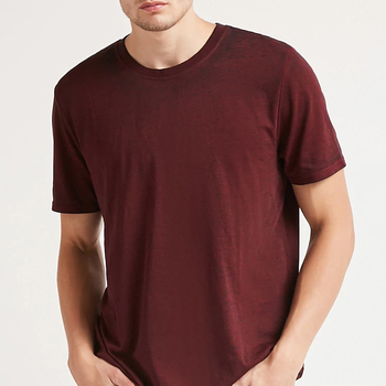 Mens Classic Short Sleeve Seamless Rib At Neck Double-needle Stitching  Throughout Multiple Colour Tops T-shirts - Buy Seamless Rib At Neck,Colour  Tops