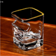 Unbreakable Lead-free hexagon drinking tea beer crystal wine whiskey glass cigar cup mug cocktail shot glasses