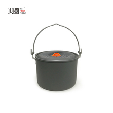 hard anodized aluminium hanging pot/ outdoor camping cookware set
