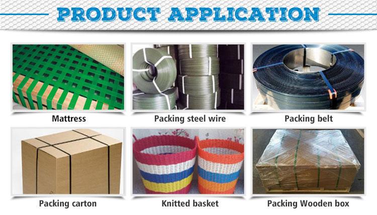 Pp reggette linea di produzione/imballaggio di plastica che fa la macchina