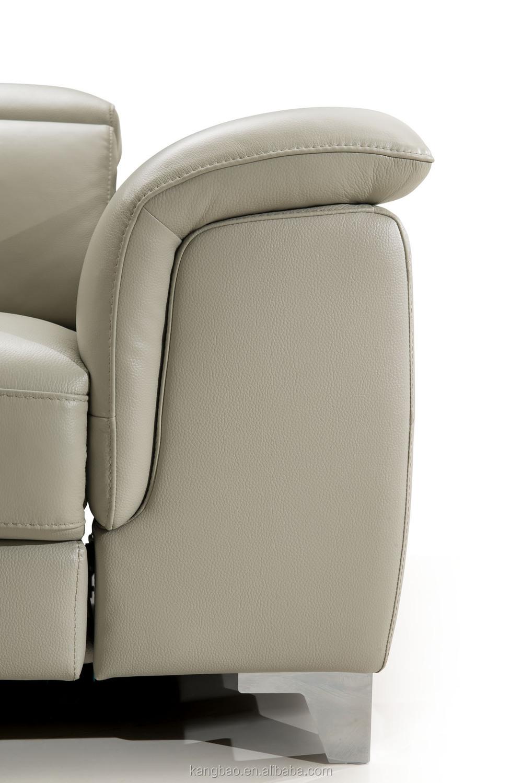 Kangbao Vv Sofa Modern Electric Recliner Genuine Leather