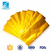 SAFETY FOOD GRADE! side gusset bag aluminium foil tea bag packing material
