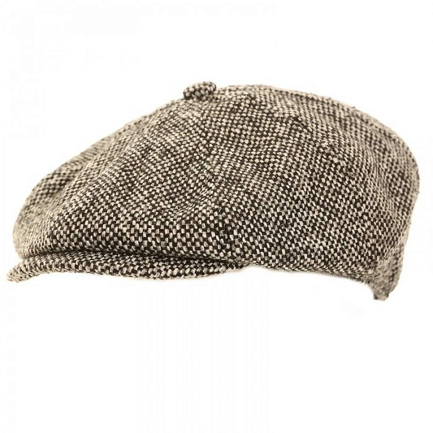 06573b6aa59 Get Quotations · Universal Textiles Mens Wool Blend 8 Panel Newsboy Cap