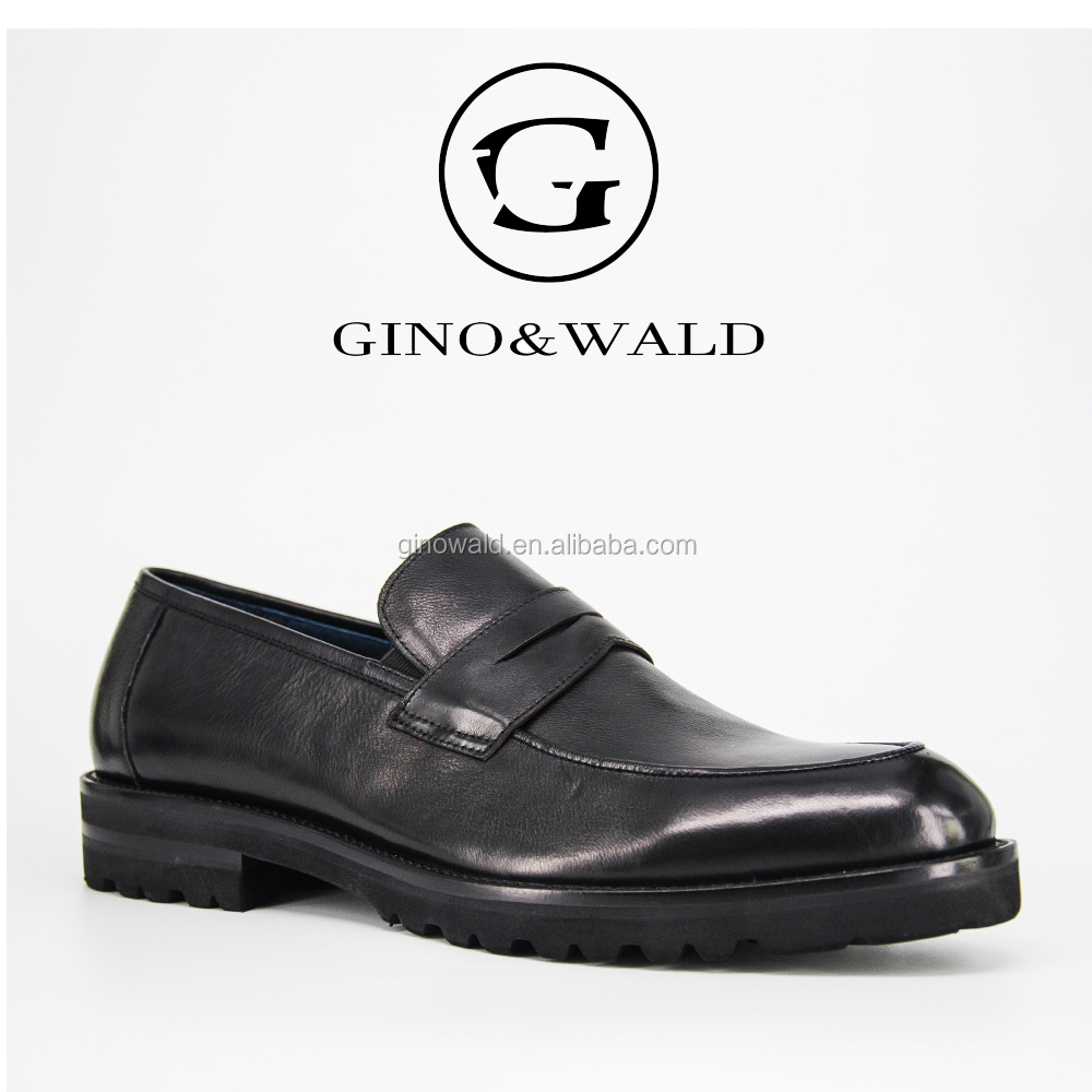 loafer shoes leather GINOWALD high men 2017 handmade end HAY0Waqp
