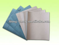 Advanced dry abrasive paper