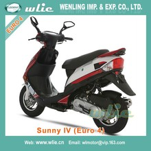 Cheap Euro 4 EEC the most popular gas scooter best in world taizhou zhongneng Sunny IV 50cc (Euro4)