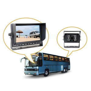 Heavy Duty 7 inch Quad Multi Function Car LCD Stand Alone AHD Monitor for Truck/Bus