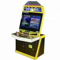 YDA 32 LCD screen coin operated street fighting cabinet / video street fighter arcade machine