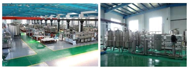 100ml/150ml/200ml/250ml Automatic Water Pet Bottle Beverage Liquid Filling Machine 8-our-factory.jpg