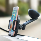 cell phone car mount universal dashboard windowshiled car phone holder for smart phone iphone 8, xs max
