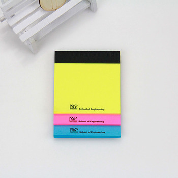 Customized Orted Colorful Sticky Notes Memo Self Stick 100 Sheets Pad Easy