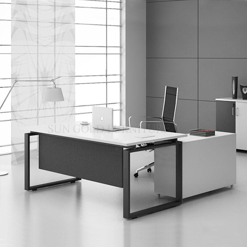 Moderne gestionnaire bureau table d 39 ordinateur table de for Bureau ordinateur moderne