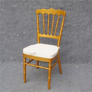 YC-A39-14 Made in China Royal Gold Wedding Napoleon Chair / Napoleon Crown Chair