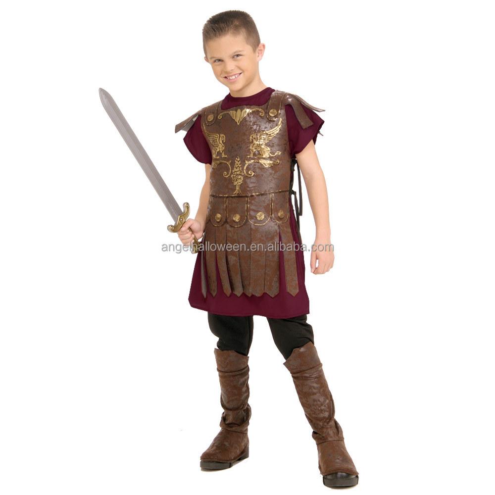wholesale cheap halloween gladiator kids roman soldier costume fc2361 buy halloween costumegladiator costumeroman soldier costume product on alibabacom