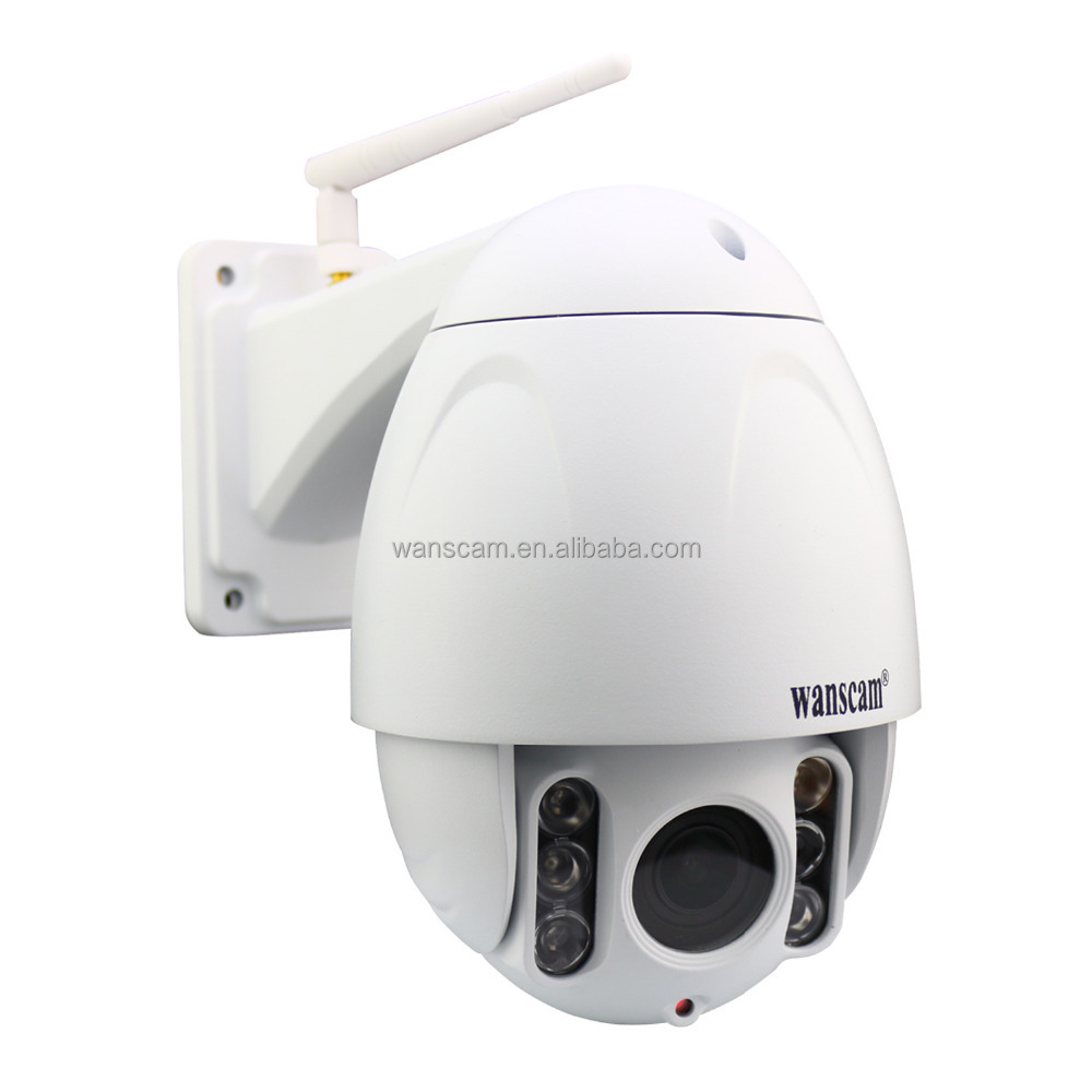 Wanscam HW0045 HD 1080P PTZ 5X Zoom Hi3516C Onvif Dome P2P Wifi IP Camera