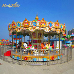 Electric toy merry-go-round carousel supplier