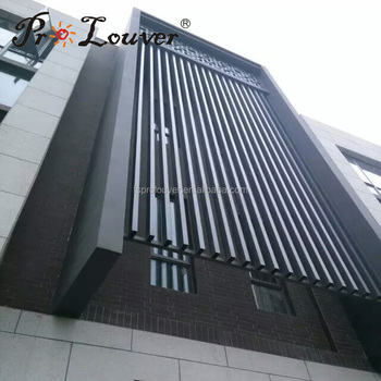 Aluminum Wall Box Louvers Design Decorative Wall