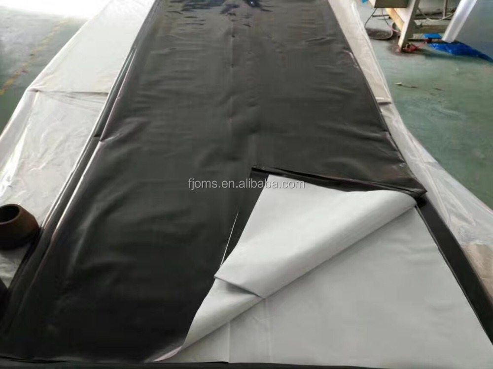 polyethylene black white timber wrap