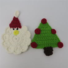 Crochet 면 Christmas Eve Apple Deer Tree 제 크리스마스 Theme