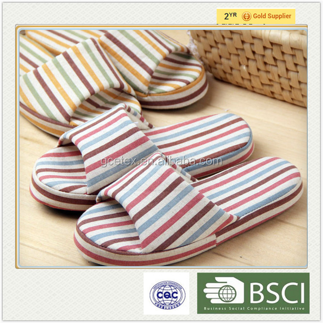GCE1336 Top quality wholesale import raw material to manufacture cotton <strong>slipper</strong>