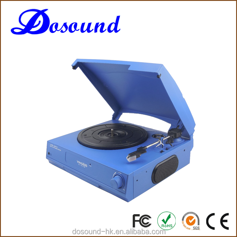 2016 Antique Wooden vinyl record player machine for sale