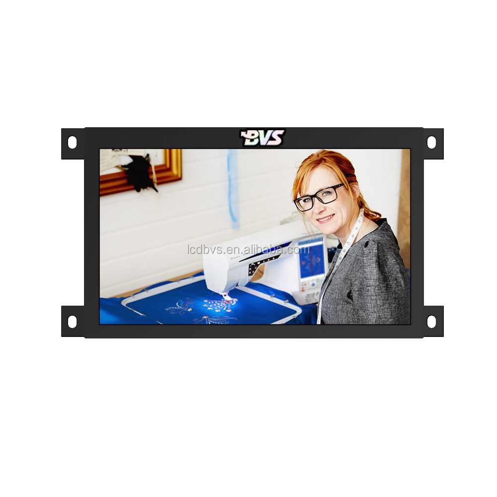 7 INCH Industrial vertical LCD video monitor for POS display promotion