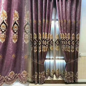 nieuwe ontwerpen luxe weefsels borduurwerk gordijnen turkse gordijnen