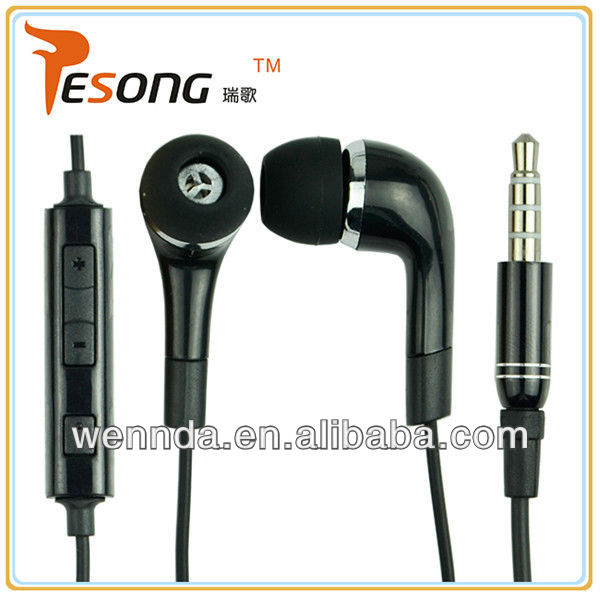 Fanny earphone 2013 design high qualtiy with mic for smart phone