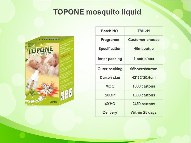 TOPONE mosquito liquid