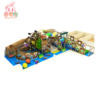 TUV certificated Factory supplier small indoor trampoline bed and rock climbing wall playground