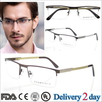 fashion new trend glasses frames 2015 men metal cheap prescription glasses stainless steel optical frames manufacturers