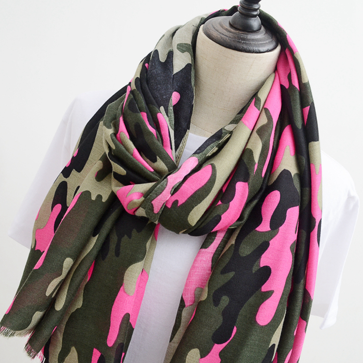 New Design Women Camouflage Scarf  higher quality cotton shawl beach hotsale leopard print scarf