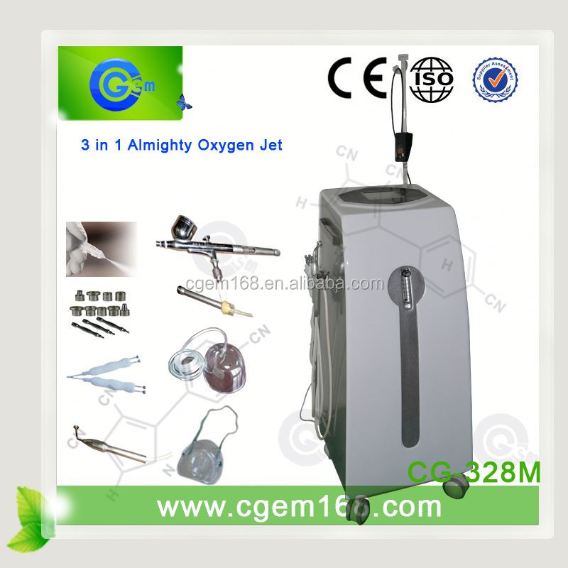 CG-328M with 1 Year Warranty oxygen jet beauty for skin care and skin rejuvenation