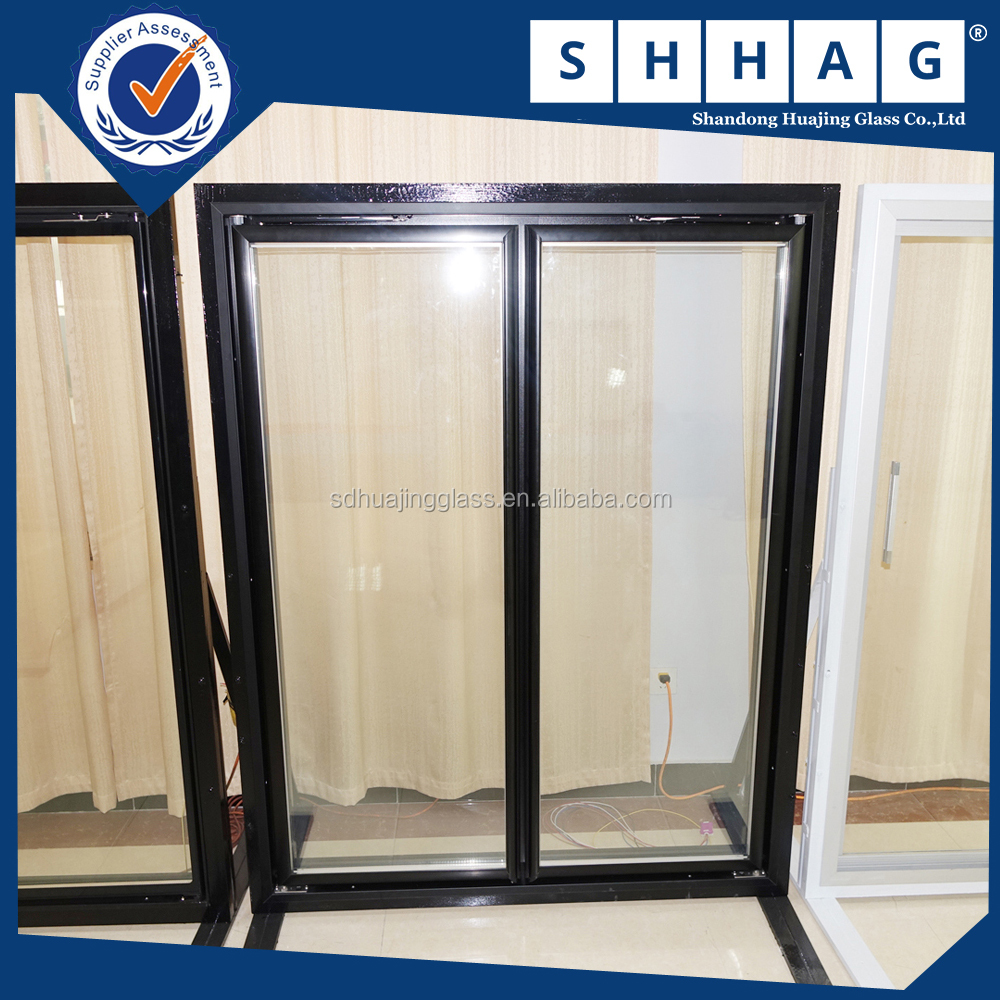 Back-up cold storage glass door manufacturer in supermarket used for commercial refrigerator