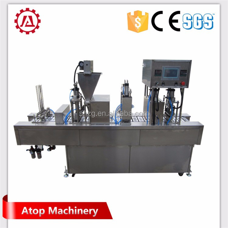 Automatic coffee powder filler and loader from Shanghai High quality machine supplier