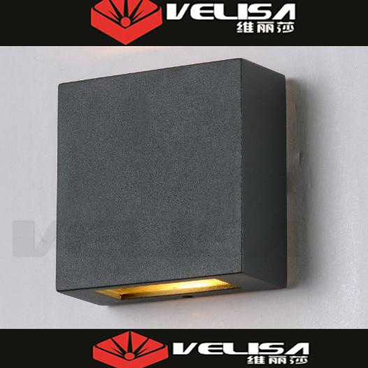 Bri vet 2x3 w led clairage ext rieur mur cube ext rieur for Lumiere mur exterieur