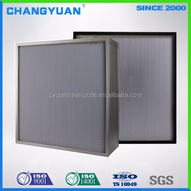 Industrial Smoke Filter Pleated,Ventilation System Hepa Filter H11,Dust Hepa Filter Sheet