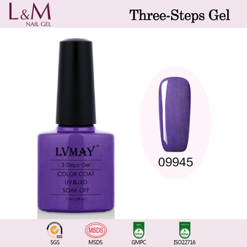 Wholesale LVMAY Nail Gel polish Beautiful Glitter Colors Gel Varnish