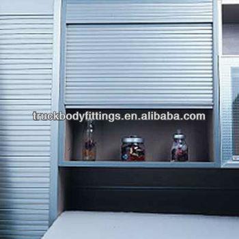 Cn Plastic/aluminum Cabinet/kitchen Roll Up Door Shutter Door ...