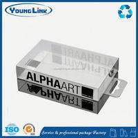 rigid clear plastic cube boxes