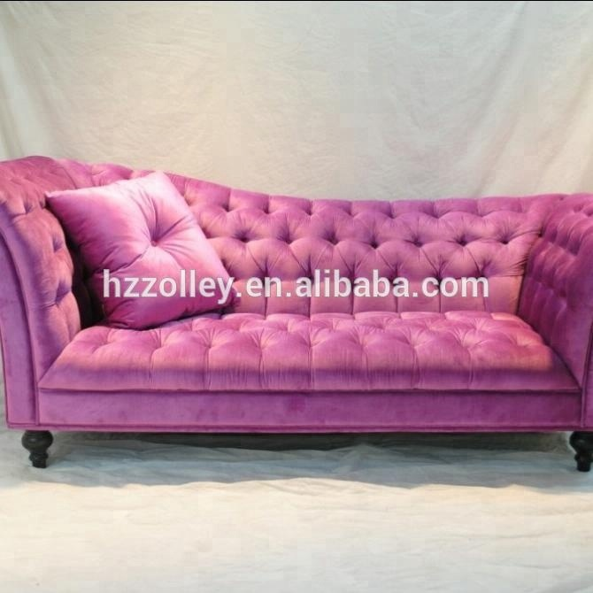 Sensational European Style Purple Velvet Fabric Upholstery Sofa Buy Pink Fabric Sofa Antique Velvet Sofa Upholstery Fabric Wooden Sofa Product On Alibaba Com Machost Co Dining Chair Design Ideas Machostcouk